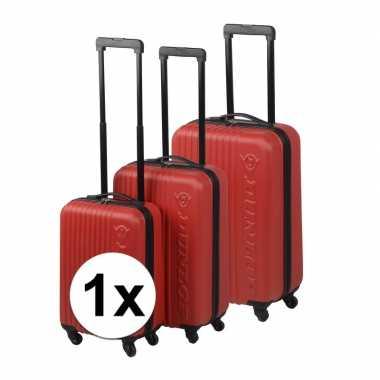 Rode reiskoffer 59 cm