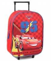 Cars handbagage reiskoffer trolley 39 cm voor kinderen 10218622