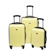 Handbagage reiskoffer trolley zwart 46 cm
